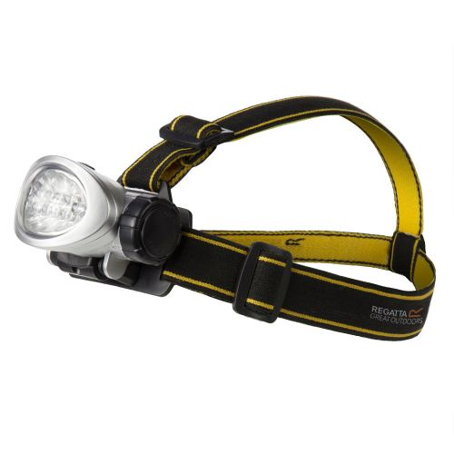 10 LED HEAD TORCH BLACK SEAL GREY